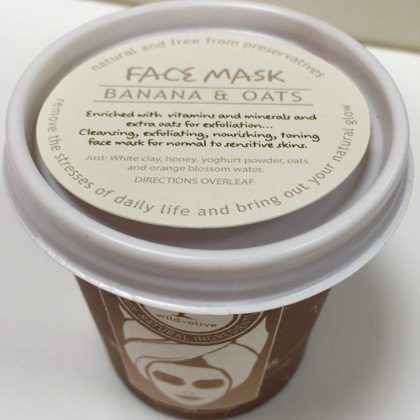 Banana and Oats Face Mask
