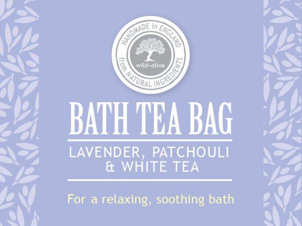 Bath Tea bag lavender
