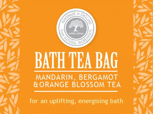 Bath Tea bag mandarin