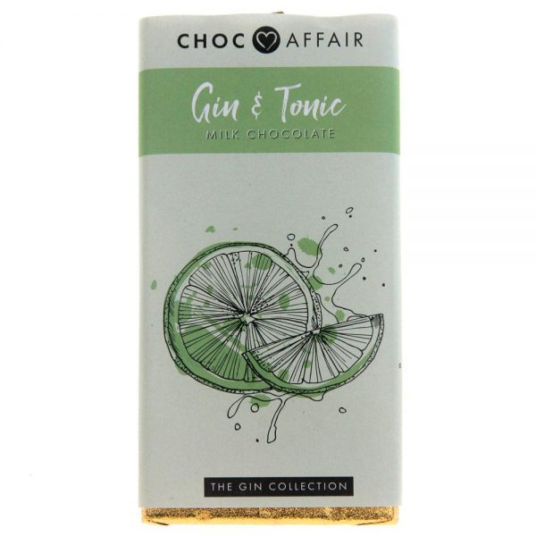 Choc bar 90g gin and tonic