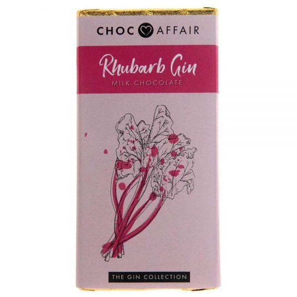 choc bar 90 g rhubarb gin