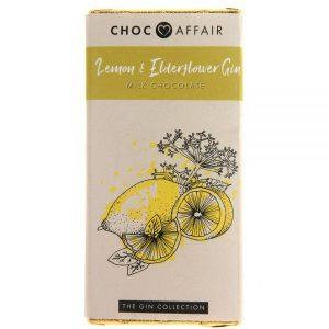 choc bar 90 g lemon and elderflower