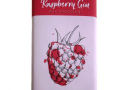 choc bar 90g raspberry gin