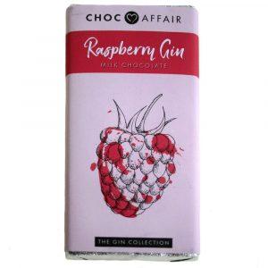 choc bar 90g raspberry gin