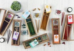 Chakra Wooden Incense Gift Set