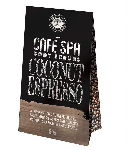 Coconut Espresso Coffee Scrub Wild Olive