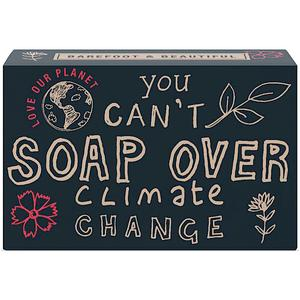 Soap Over Climate Change - Bath House Barefoot and Beautiful Environmental Soaps
