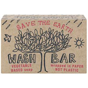 Save the Earth - Bath House Barefoot and Beautiful Environmental Soaps