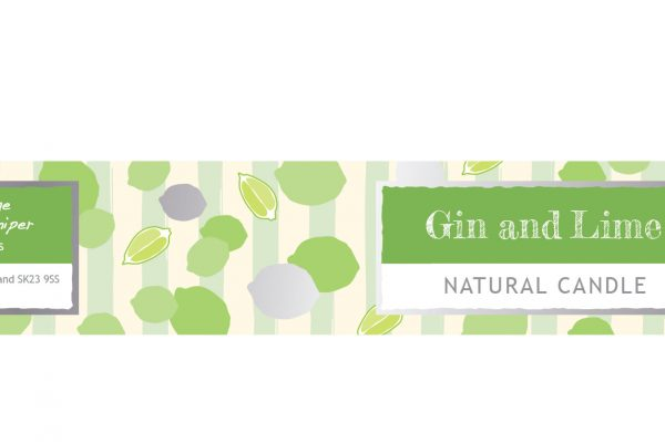 Gin Fizz Small Dotty Tin Candle