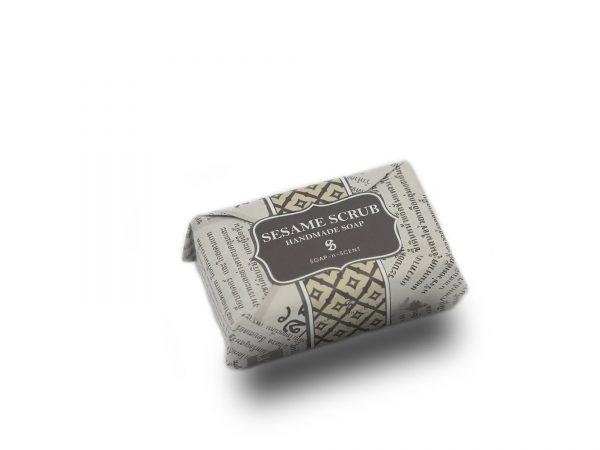 Sandalwood Scrub Handmade Soap
