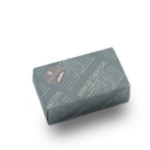Bamboo charcoal soap by Soap n Scent