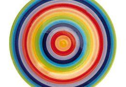Rainbow plate Large 27cm