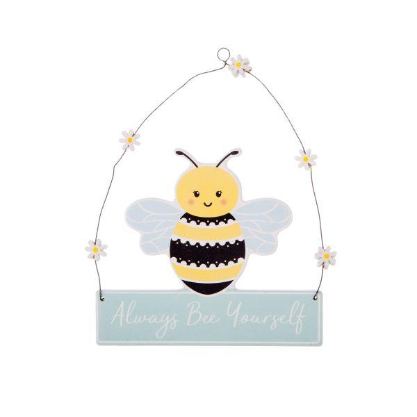 Queen Bee Hanging Plaque