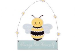 Queen Bee Hanging Plaque