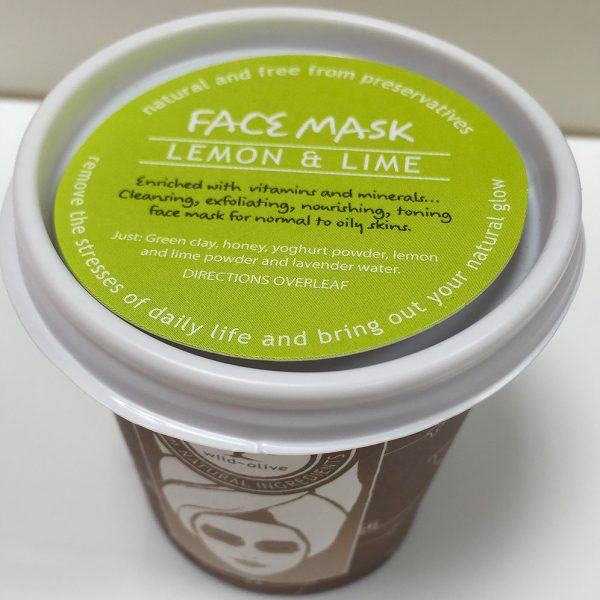 Lemon and Lime Face Mask