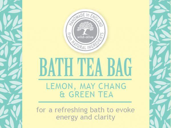 Bath Tea bag lemon