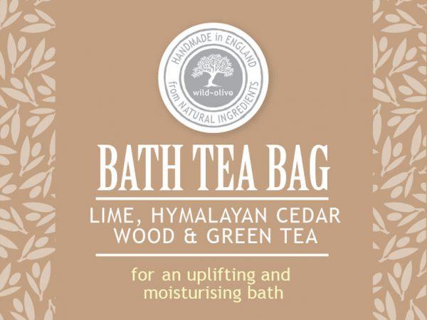Bath Tea bag lime