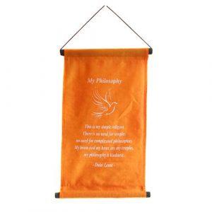 Buddha Banner - My philosophy
