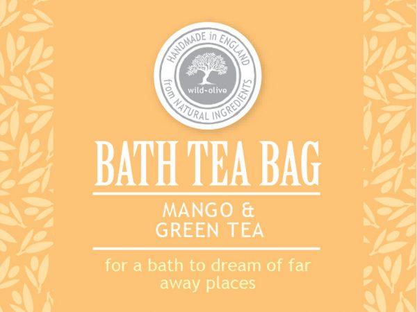 Bath Tea bag mango