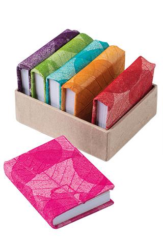 Leaf Design Lokta Paper Notebooks
