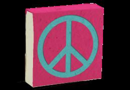 Poo Poo Paper pad Peace Pink