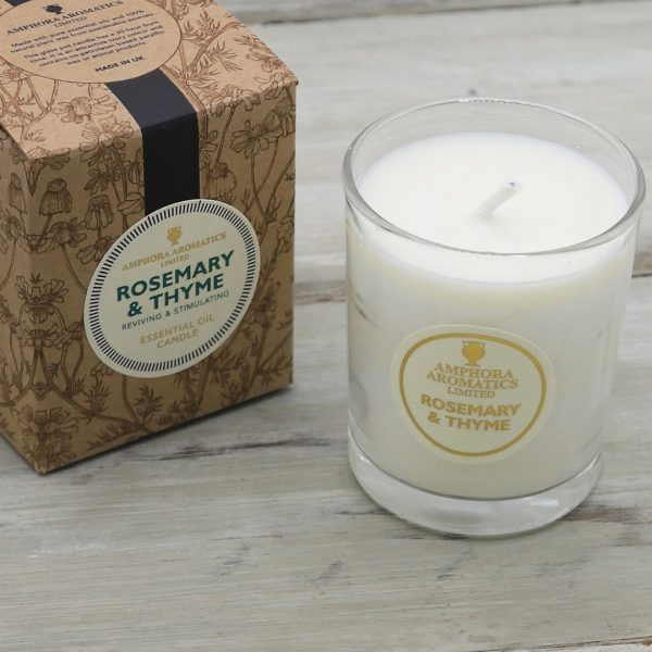 Rosemary & Thyme Amphora Candle