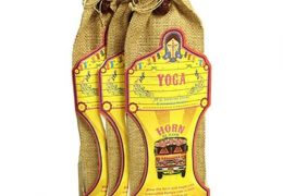 Great Indian Incense with holder and jute bag - Yoga