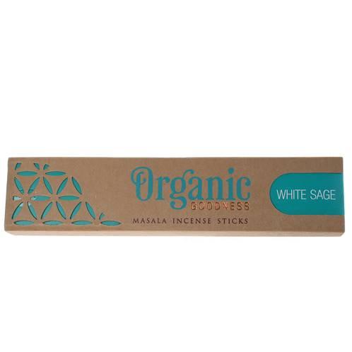 Organic Goodness Incense Sticks White Sage