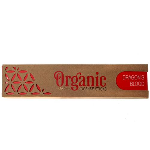 Organic Goodness Incense Sticks Dragons Blood