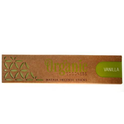 Organic Goodness Incense Sticks Vanilla