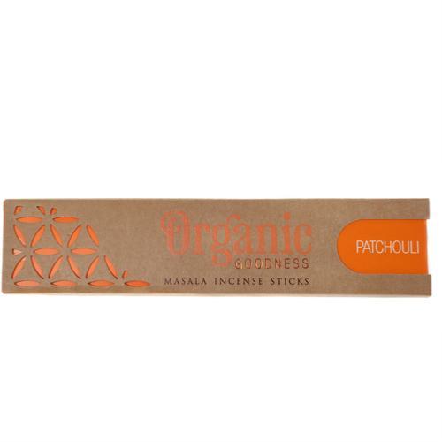 Organic Goodness Incense Sticks patchouli