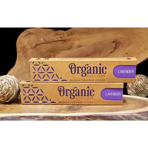 Organic Goodness Incense Sticks Lavender