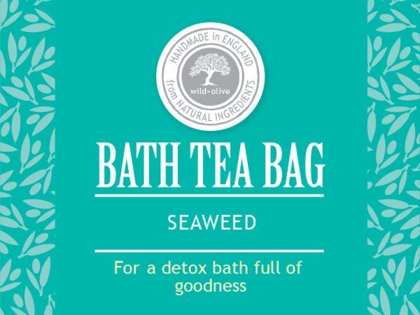 Bath Tea bag seaweed