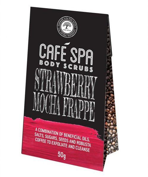 Strawberry Mocha Frappe Coffee Scrub Wild Olive