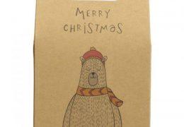 Vegan Store Polar Bear Christmas Gift Box