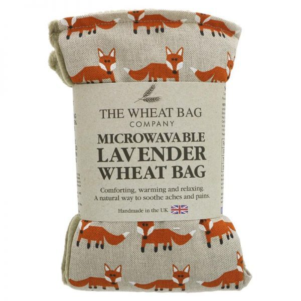 The Wheat Bag Company Wheat Bag Foxes Lavender
