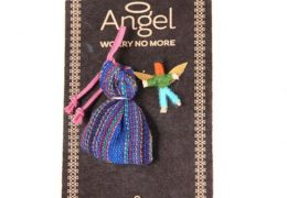 Guatemalan Angel Worry Doll with bag