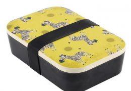 ZIGGY ZEBRA BAMBOO LUNCH BOX