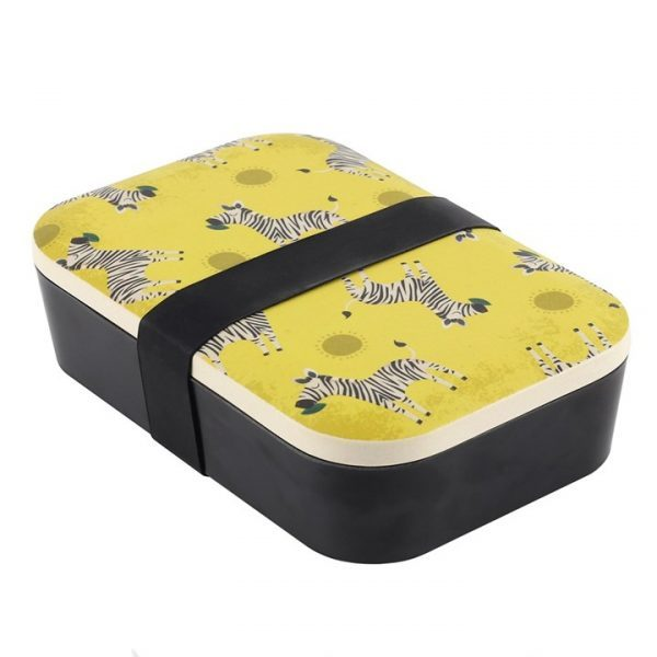 ZIGGY ZEBRA BAMBOO LUNCH BOX