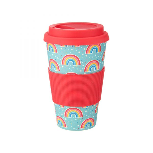 ZOE051_Chasing_Rainbows_Bamboo_Coffee_Cup_Front