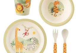 Savannah_Safari Bamboo Tableware Set