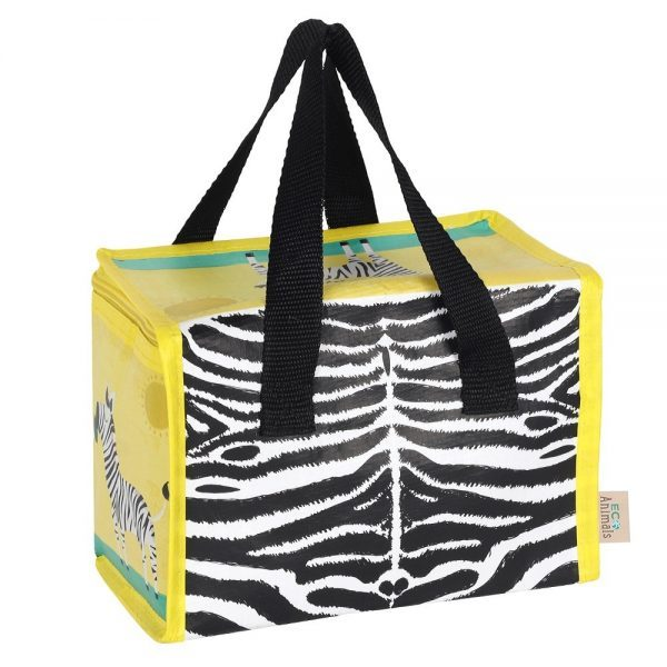 Ziggy Zebra Lunch Bag Reverse