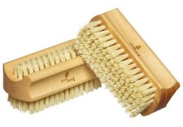 Eco friendly sustainable natural nail brush