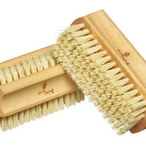 Eco friendly sustainable natural nail brush