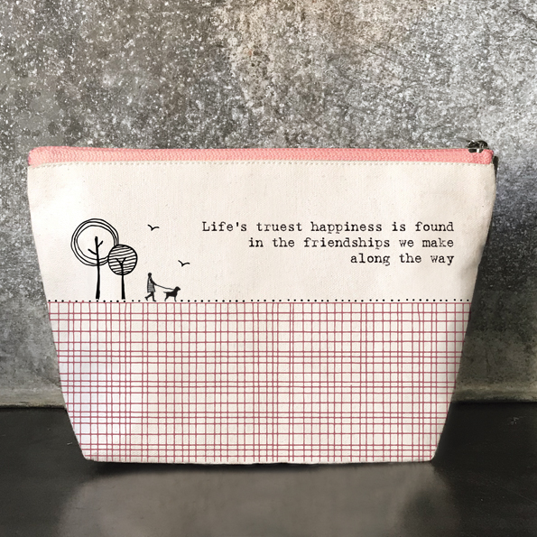 Life Truest Cosmetic Bag by East of India