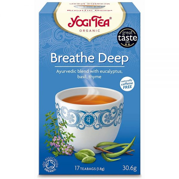 Yogi Tea Organic Breathe Deep Tea [17bgs]