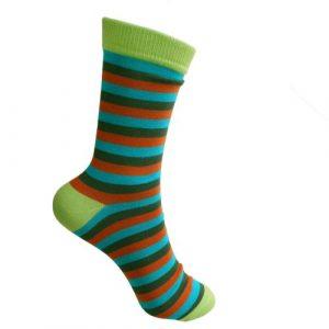Fair Trade Bamboo Socks -Stripes