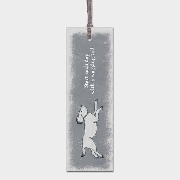 Bookmark - Running Dog