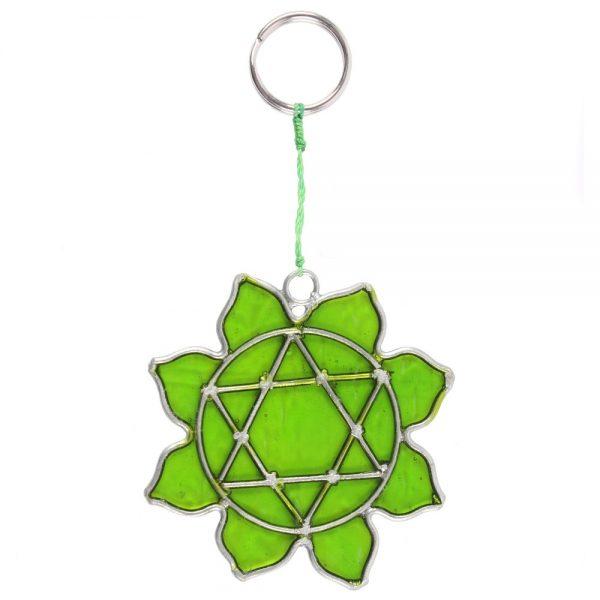 Heart Chakra Symbol Mini Suncatcher