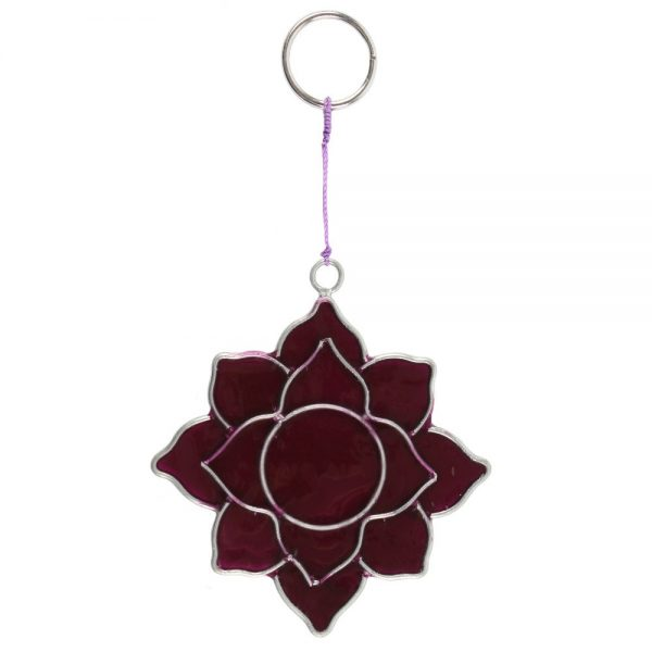 Crown Chakra Symbol Mini Suncatcher